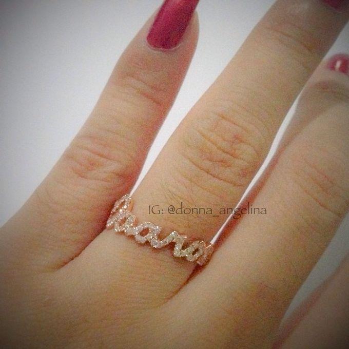 Name & Initial by DA Jewelry - 025