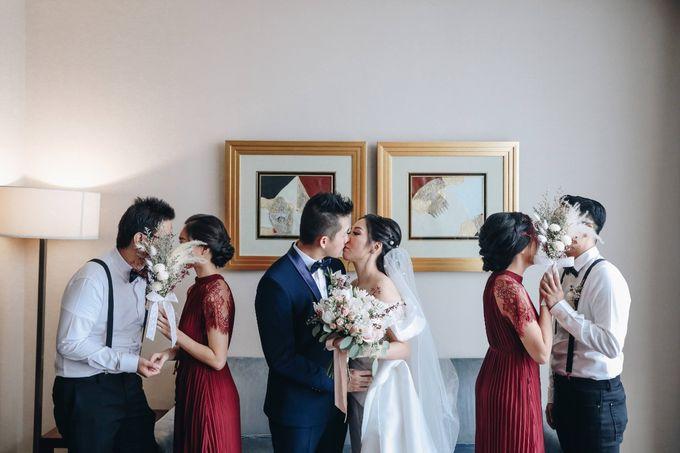 William & Selvi Wedding at Hilton Hotel by PRIDE Organizer - 010