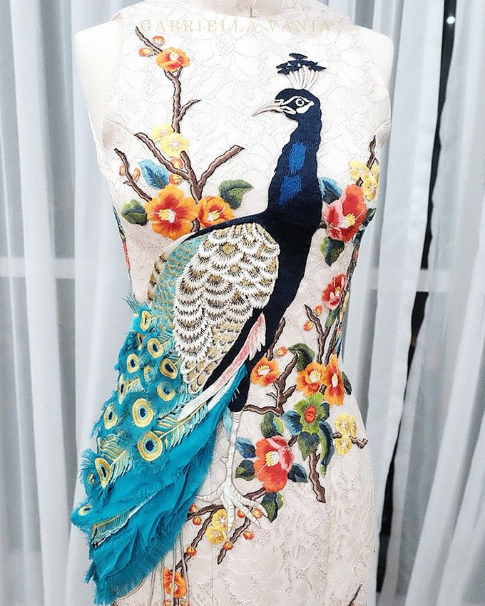 Cheongsam Embroidery - GV HERITAGE by GV by Gabriella Vania - 014