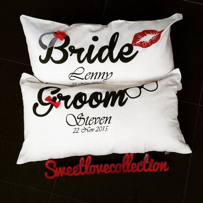 Wedding Pillow by Sweetlovecollection - 032