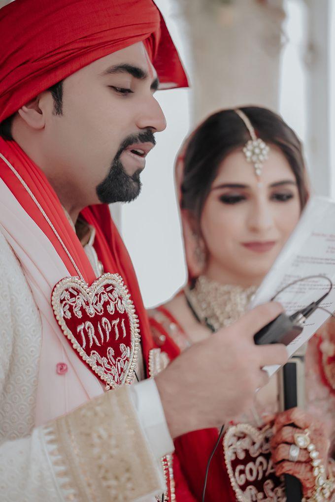 Gopal & Tripti Wedding day 3 by InterContinental Bandung Dago Pakar - 037