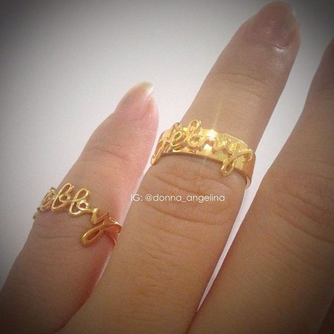 Name & Initial by DA Jewelry - 010