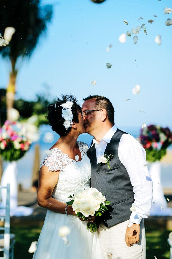 WEDDING OF HELGA & ANDREAS by Fairmont Sanur Beach Bali - 006