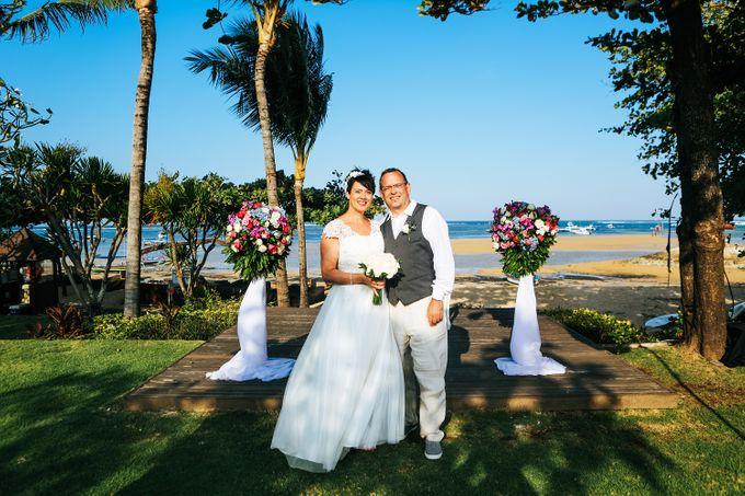 WEDDING OF HELGA & ANDREAS by Fairmont Sanur Beach Bali - 007