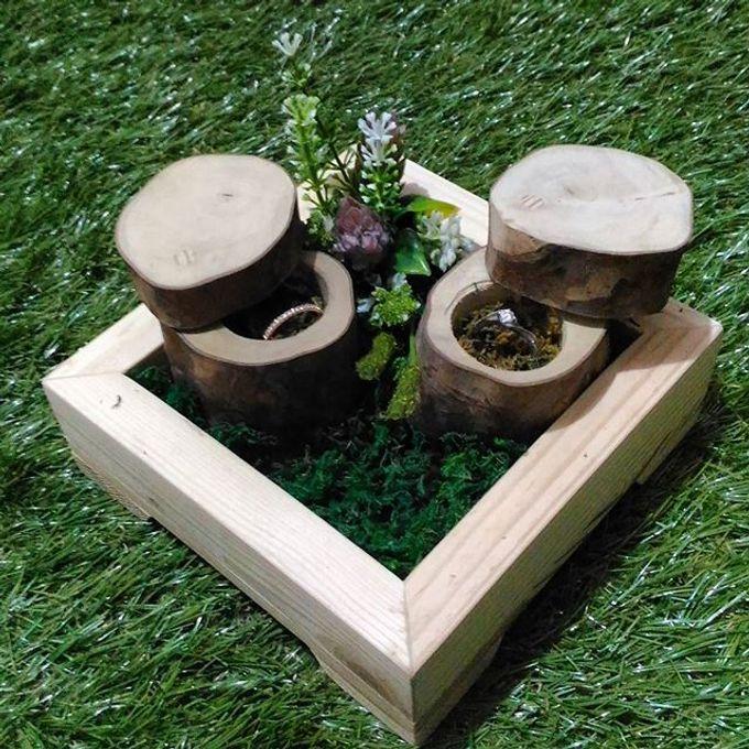 Wedding ring box by Hana Seserahan - 030