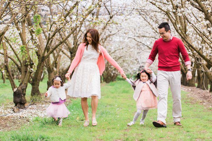 Cherry blossom Family by Lena Lim Photography - 002