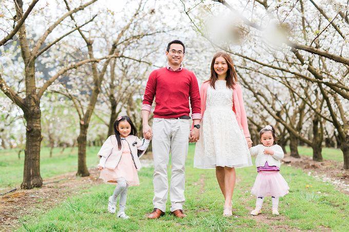 Cherry blossom Family by Lena Lim Photography - 001