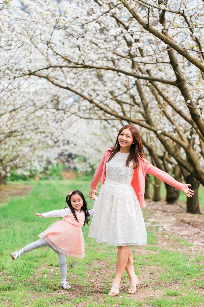 Cherry blossom Family by Lena Lim Photography - 007