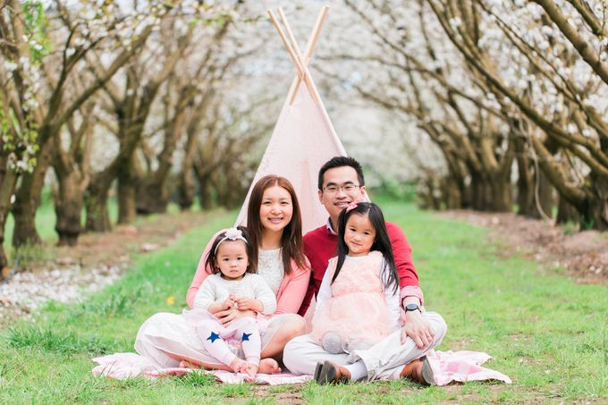 Cherry blossom Family by Lena Lim Photography - 008