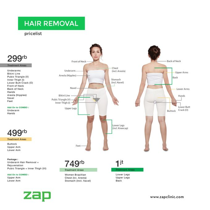 Hair Removal by ZAP Clinic - 001