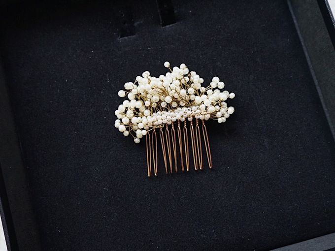 Catalog - Wedding & Pre-wedding Hairpiece by NOMA Jewelry & Accessories - 048