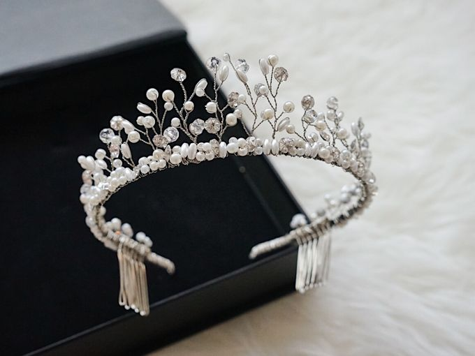 Catalog - Wedding & Pre-wedding Hairpiece by NOMA Jewelry & Accessories - 005