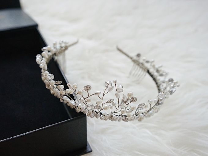 Catalog - Wedding & Pre-wedding Hairpiece by NOMA Jewelry & Accessories - 006