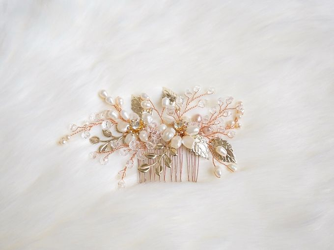 Catalog - Wedding & Pre-wedding Hairpiece by NOMA Jewelry & Accessories - 009