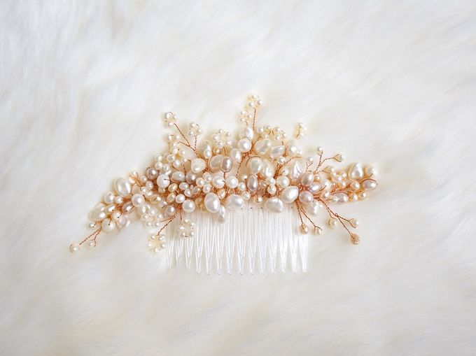 Catalog - Wedding & Pre-wedding Hairpiece by NOMA Jewelry & Accessories - 017