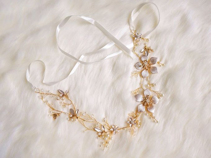 Catalog - Wedding & Pre-wedding Hairpiece by NOMA Jewelry & Accessories - 031