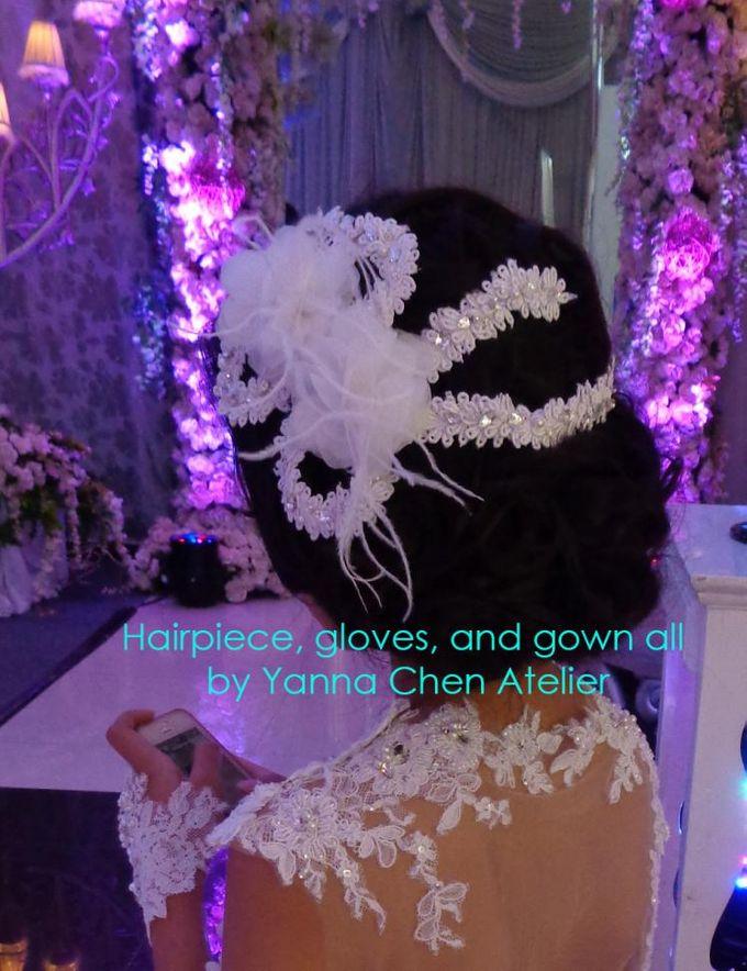 Hair Piece & Accessories by YANNA CHEN ATELIER - 001