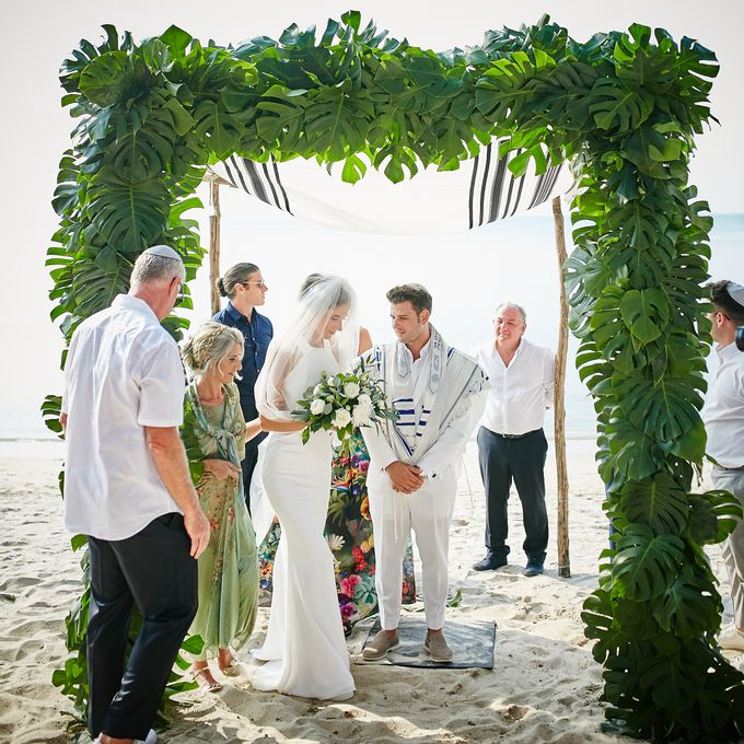 Bianca & Rubens Jewish Ceremony by Samui Weddings and Events - 001
