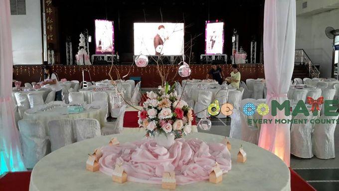 Hall wedding & Restaurant dinner by Glammories - 001