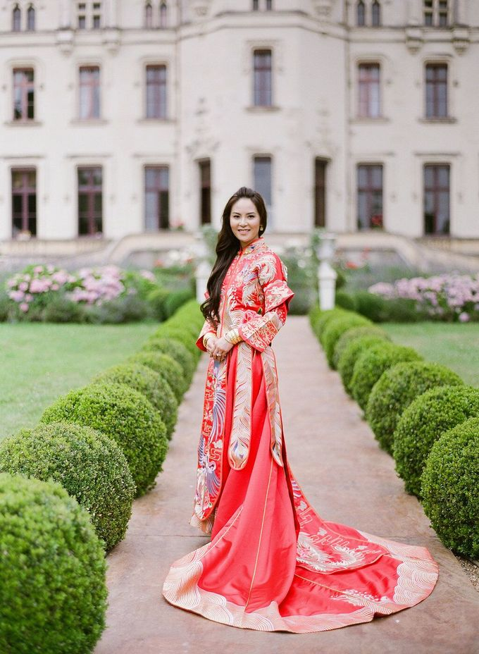 Henry & Caroline by Chateau Challain Events - 002