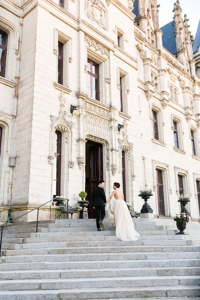 Henry & Caroline by Chateau Challain Events - 012