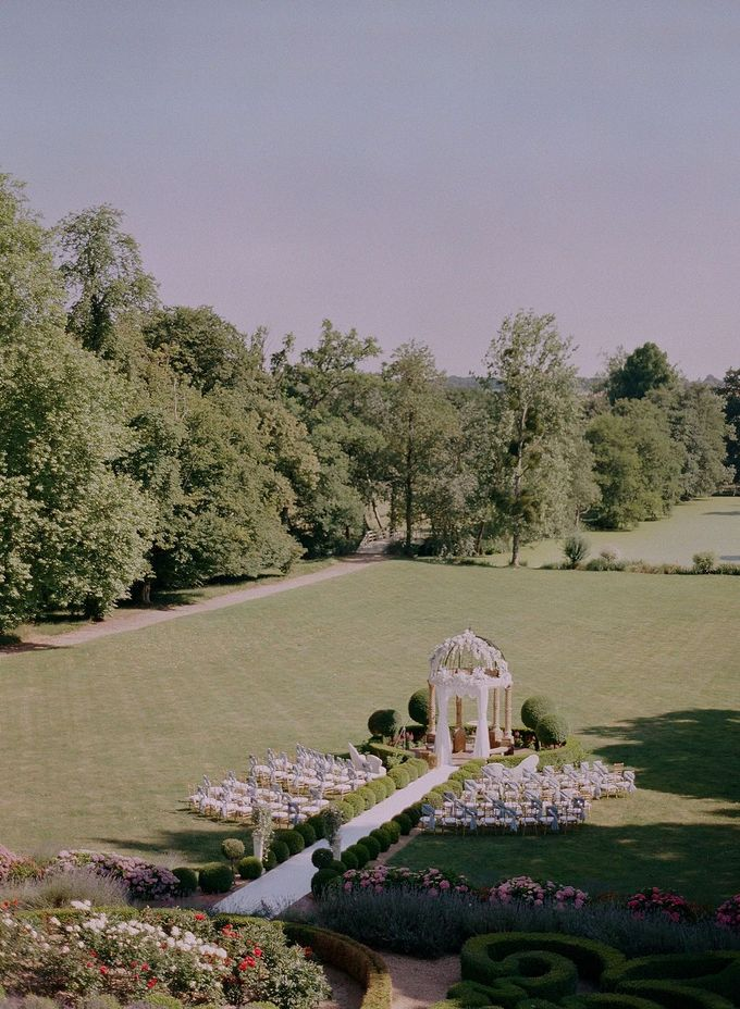 Henry & Caroline by Chateau Challain Events - 007