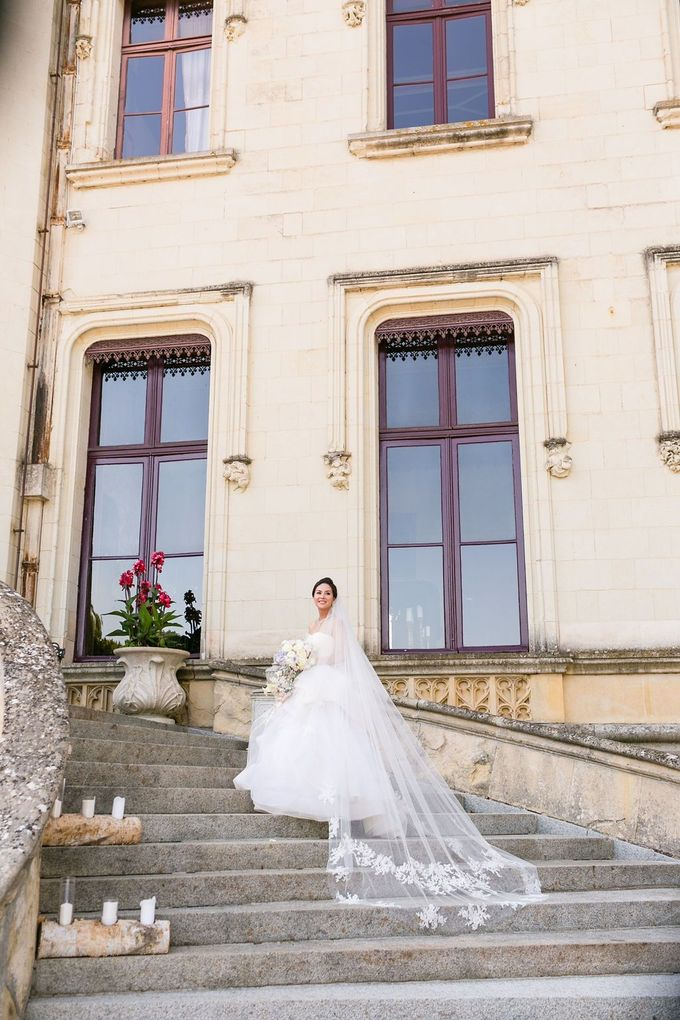 Henry & Caroline by Chateau Challain Events - 011