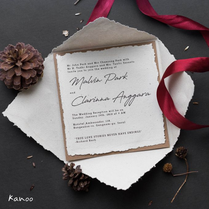 Wedding Invitation Royale Classic by Kanoo Paper & Gift - 006