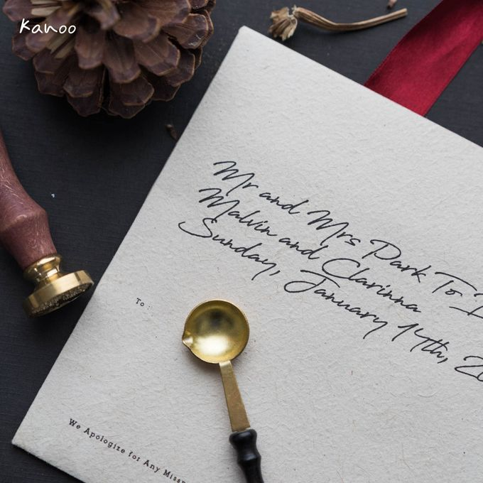 Wedding Invitation Royale Classic by Kanoo Paper & Gift - 008
