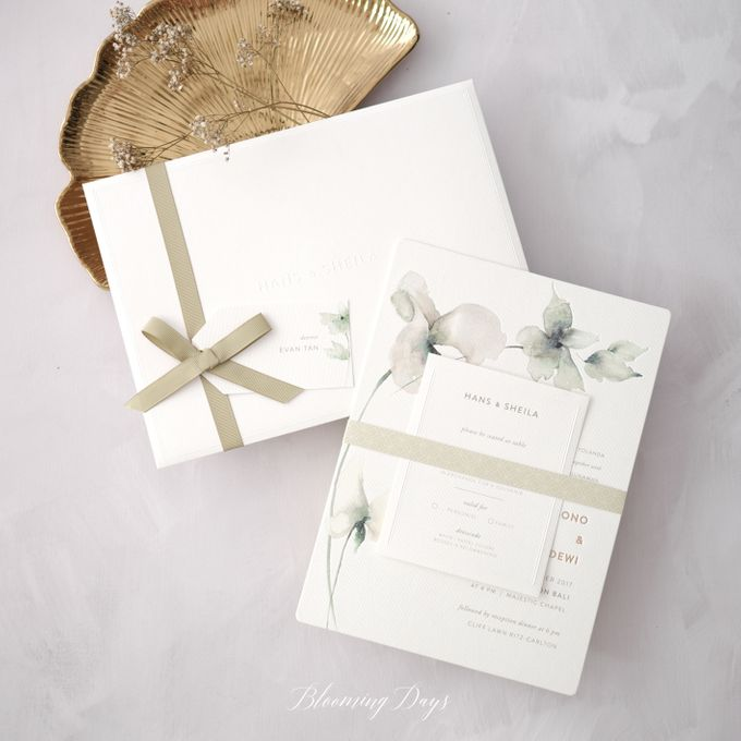 GLOW OF THE GREEN by BloomingDays Invitation Studio - 001