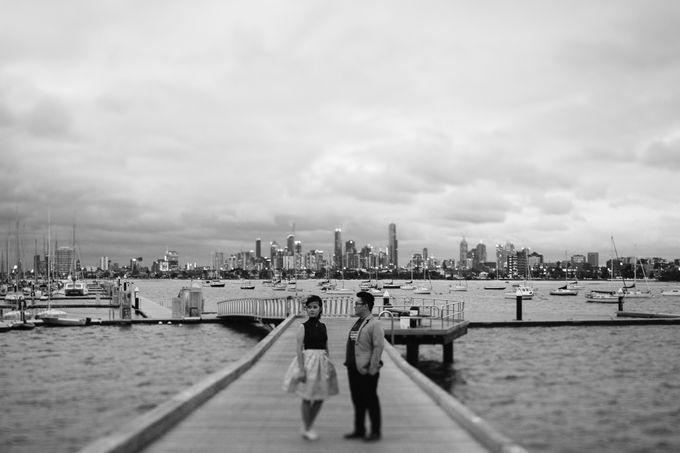 Tender Couple Session in Melbourne City by fire, wood & earth - 020