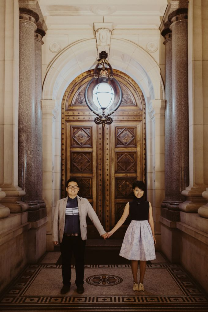Tender Couple Session in Melbourne City by fire, wood & earth - 023
