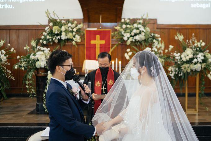 Hans & Yurike Wedding at Bandung Convention Centre by PRIDE Organizer - 043
