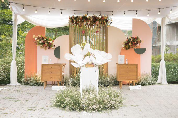 The Wedding of Hansen and Nerisa by Elior Design - 014