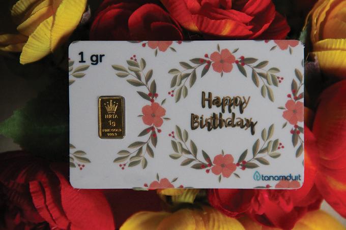 Emas Logam Mulia HRTA - Happy Birthday 2 by tanamduit emas - 001