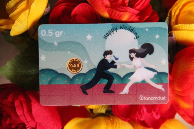 Emas Logam Mulia Hartadinata - Happy Wedding 2 by tanamduit emas - 001
