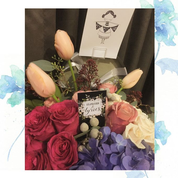 Personal Hand Bouquet by Flowers & Lyrics - 006