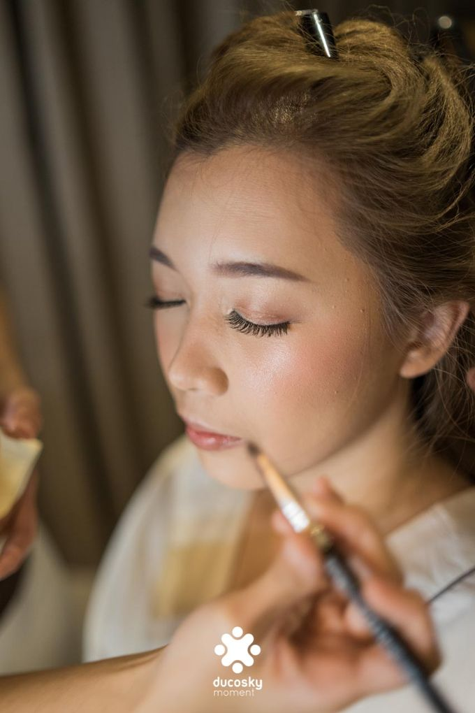 Harfy Chindy Wedding | Bride's Morning Preparation by Florencia Augustine - 003