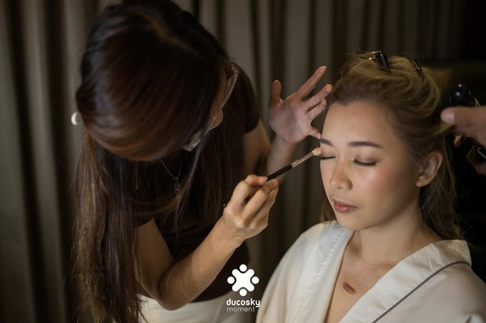 Harfy Chindy Wedding | Bride's Morning Preparation by Florencia Augustine - 004