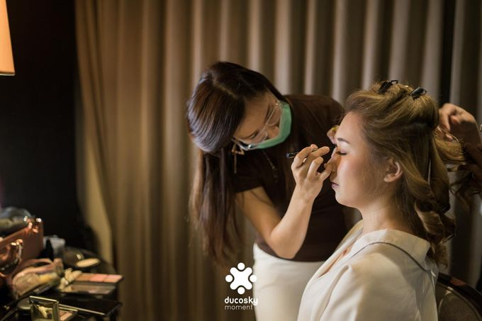 Harfy Chindy Wedding | Bride's Morning Preparation by Florencia Augustine - 005