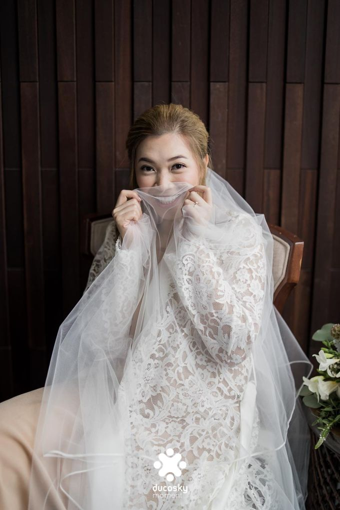 Harfy Chindy Wedding | Bride's Morning Preparation by Florencia Augustine - 037