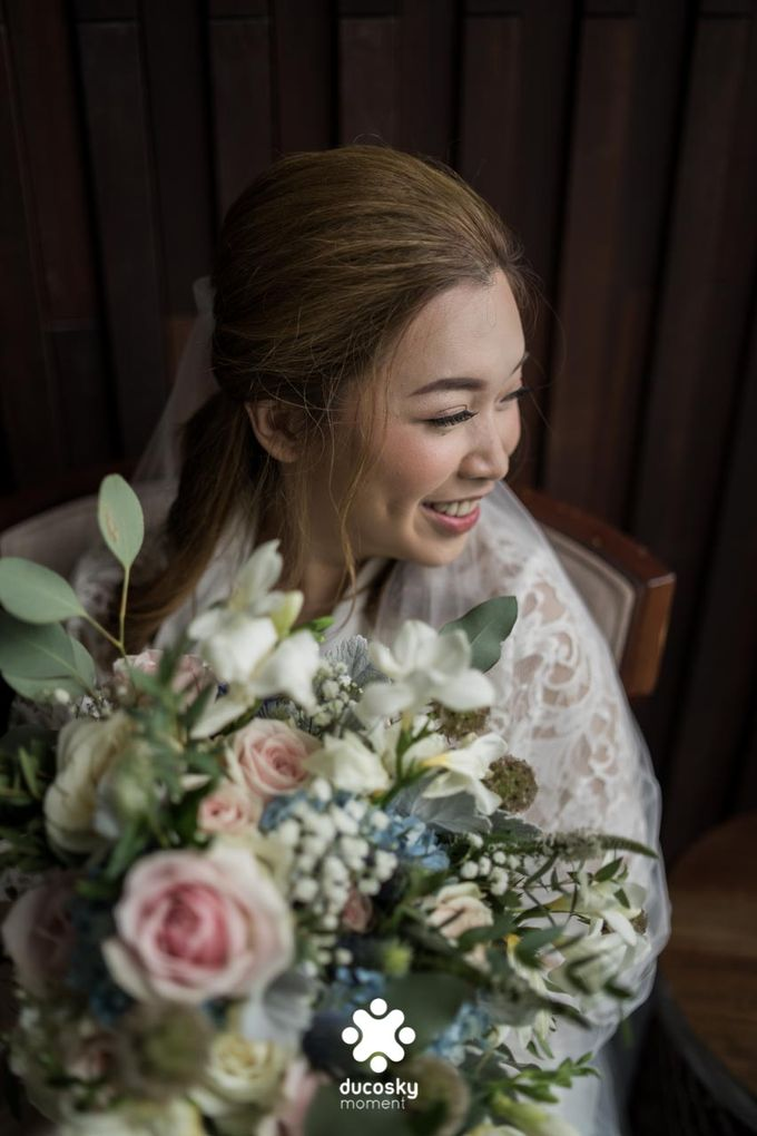 Harfy Chindy Wedding | Bride's Morning Preparation by Florencia Augustine - 038