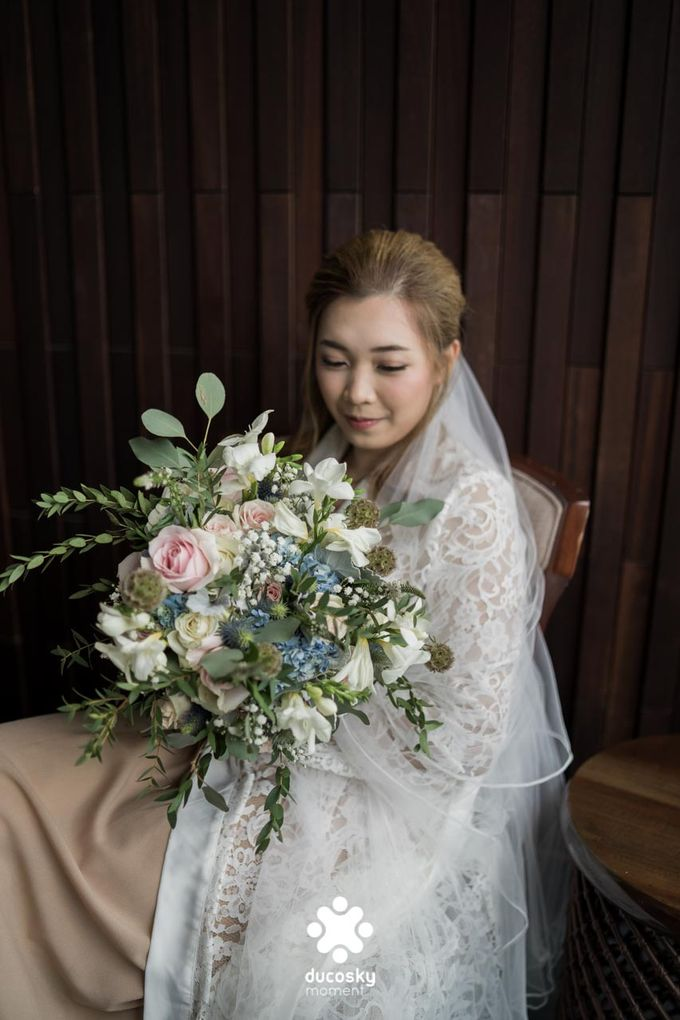 Harfy Chindy Wedding | Bride's Morning Preparation by Florencia Augustine - 039