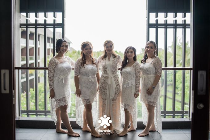 Harfy Chindy Wedding | Chindy and the Bridesmaid by Florencia Augustine - 002