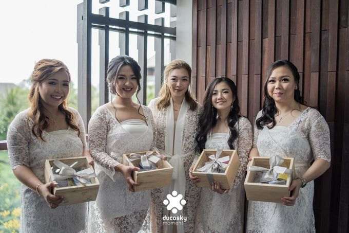 Harfy Chindy Wedding | Chindy and the Bridesmaid by Florencia Augustine - 014