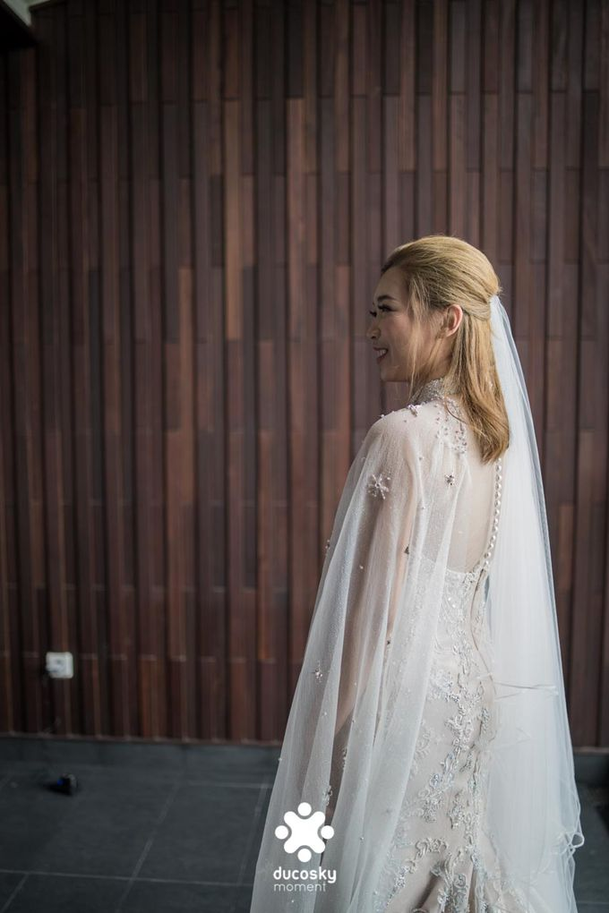 Harfy Chindy Wedding | Chindy and the Bridesmaid by Florencia Augustine - 016