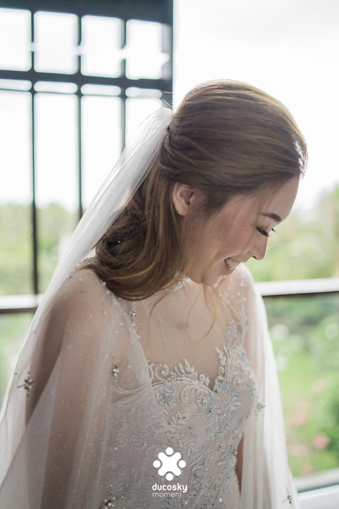 Harfy Chindy Wedding | Chindy and the Bridesmaid by Florencia Augustine - 021
