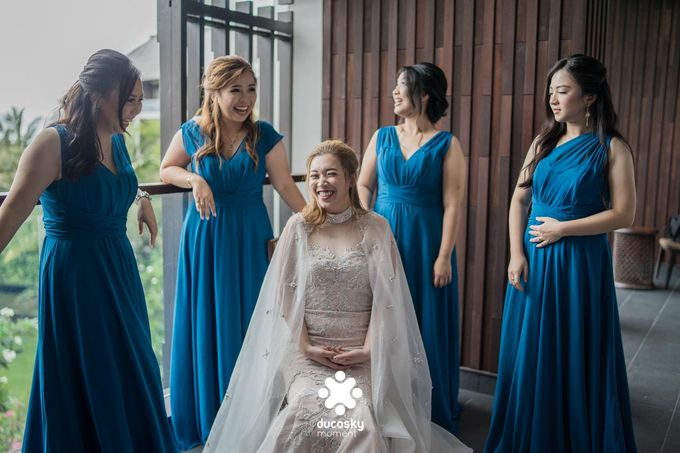 Harfy Chindy Wedding | Chindy and the Bridesmaid by Florencia Augustine - 022