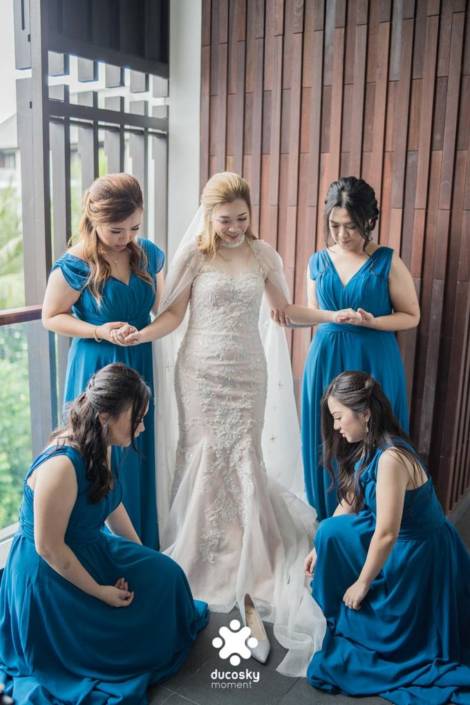 Harfy Chindy Wedding | Chindy and the Bridesmaid by Florencia Augustine - 023