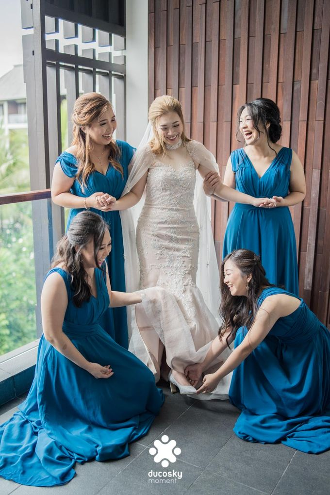 Harfy Chindy Wedding | Chindy and the Bridesmaid by Florencia Augustine - 025